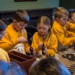 Young scientists at STEM workshops in Beamish